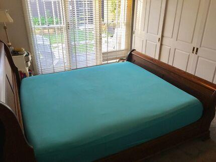 King bed plus mattress