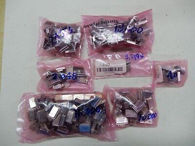 Dil-14 Crystal Oscillator Lot 2 18.000 10.000 4.0 2.048 2.4576 3.5795 16.000