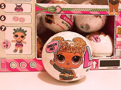 Lol Surprise Big Sister Glitter Series Doll 7 Layers 1 White Ball 100  Authentic
