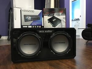 Car audio bundle for sale $300