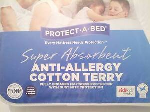 Mattress protector, single, anti-allergy Daceyville Botany Bay Area Preview