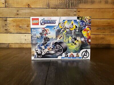 Lego Marvel Avengers. Avengers Speeder Bike Attack, 76142 Black Panther & Thor