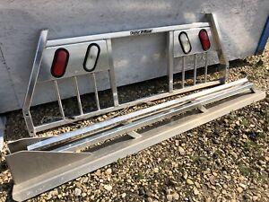 6.5ft headache rack with box rails
