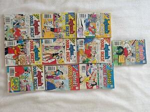 10 COMIC BOOKS JUGHEAD DOUBLE DIGESTS  ARCHIE LIBRARY AS NEW Panorama Mitcham Area Preview