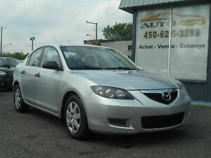 MAZDA 3 GX 2007 ***AIR CLIMATISE,AUTOMATIQUE***