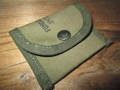 100%Orig WWII WW2 M1 Garand M1 Carbine Colt 1911 BAR 1903 Spare Parts Pouch OD7