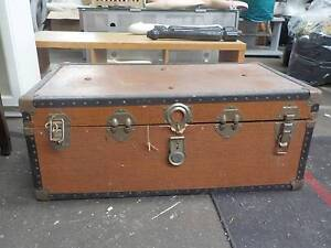 Brown Vintage Trunk O'Connor Fremantle Area Preview