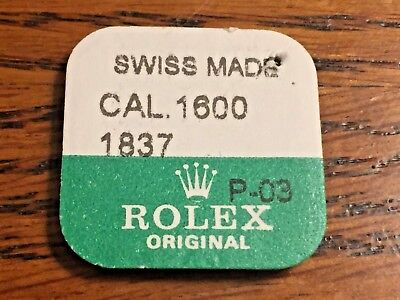 Genuine Rolex Part 1600-1837 Stem (selling 2  from Factory Package)