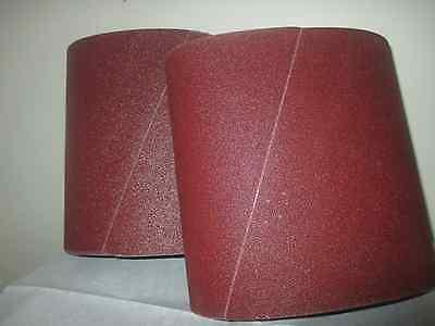 Premium 16 Grit Sandpaper Belts 8 X 19 10-pack For Ez8 Floor Sander