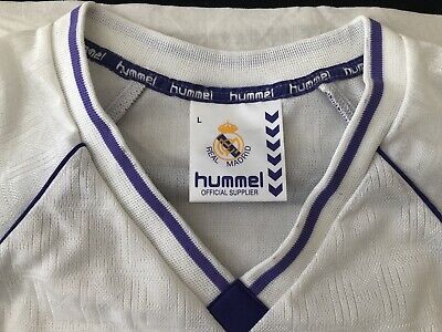 Vintage Real Madrid 90's Hummel Long Sleeve Jersey New!! Size S.