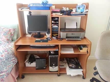 Perfect condition Computer desk Sans Souci Rockdale Area Preview