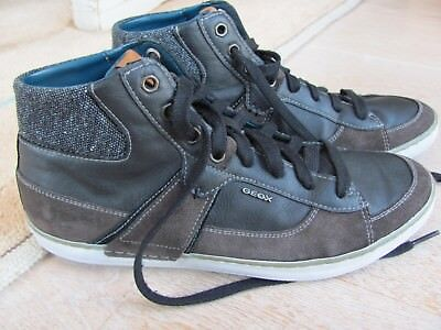 Geox - Hochwertige Sneaker Gr.40 - Braun - Leder - h.Neupreis sehr guter Zustand