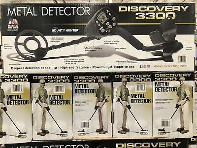 Discovery 3300 Metal Detector Bounty Hunter 8
