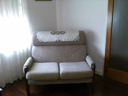 2 seat sofa and 2 matching armchairs