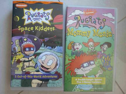 2 Rugrats Kids Vhs Movies