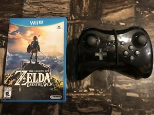Zelda: Breath of the Wild for Wii-U + Pro Controller!!!