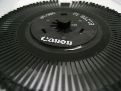 New Canon Typewriter Printwheel - See Below Choice Of One In Listing Wwarranty