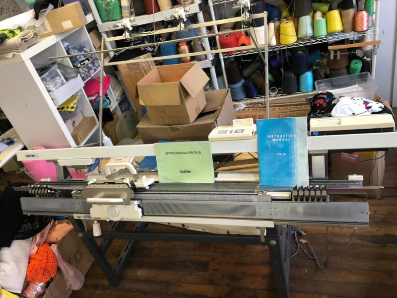 Brother Ck-35 Knitting Machine