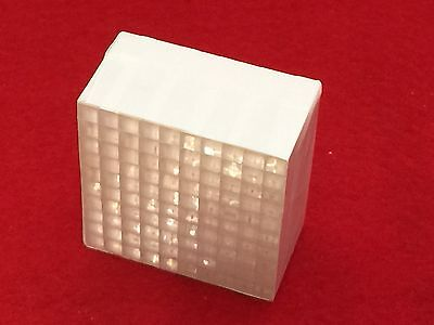 Lyso 10x10 Crystal Array Scintillator For Gamma Radiation Scintillation Detector
