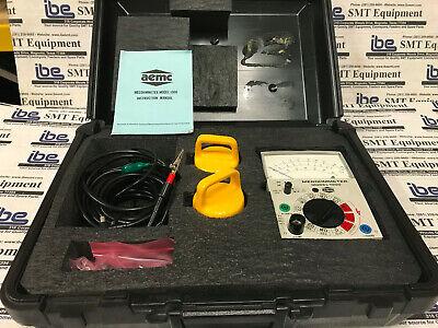 Aemc Megohmmeter Model 1000 Kit With Warranty