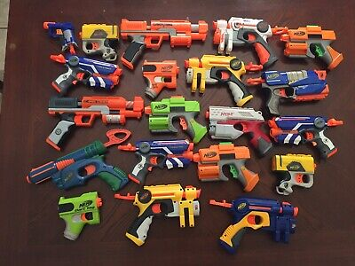 Lot of 20 🔫 Nerf Guns 🔫 CLEAN
