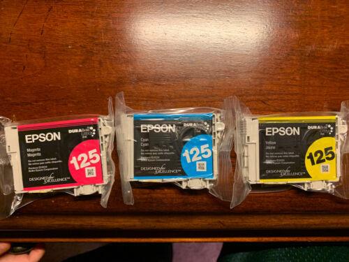epson printer ink cartridges 125 New Still In Plastic. Print