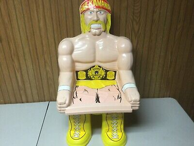 Vintage 1991 WWF Titan sports HULK HOGAN Kids swivel chair ESTATE FIND LOOK