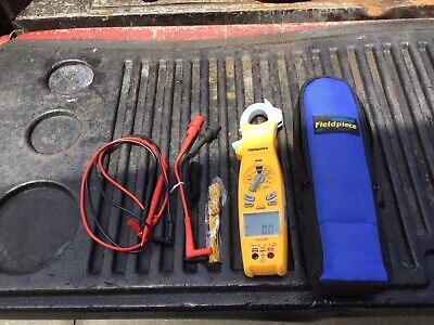 Fieldpiece Sc640 True Rms Clamp Meter With Swivel Headfree Shipping