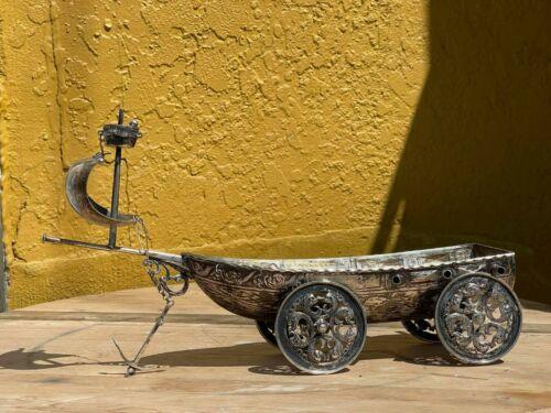 Antique Karl Söhnlein German Silver Nef boat