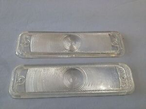 NEW-PAIR-OF-HOLDEN-FRONT-INDICATOR-LENSES-EJ-EH-HOLDEN-SEDAN-WAGON-UTE-AND-VAN