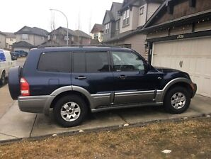 2004 Mitsubishi Montero sports Limited