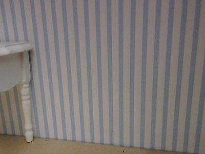 Vögelchen-Kinderzimmer-TAPETE kräftig pupurrot,ideal f PUPPENSTUBE,Bogen30x53cm