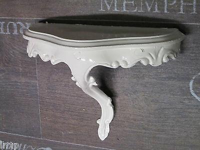 Mini Wall Console Shelf White Baroque Reproduction 23, 5x10x18cm Mirror 2