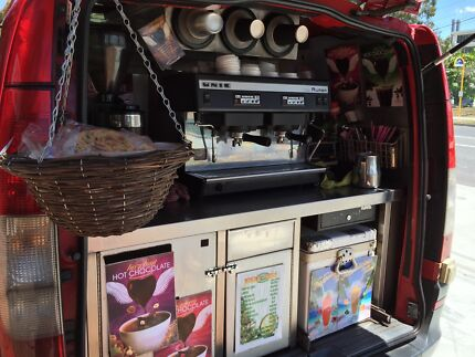 """""""NOT A FRANCHISE"""" Mobile Coffee Van + Events"""