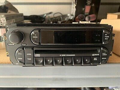 2002 2003 2004 2005 Dodge Ram 6 Disc Cd Amp