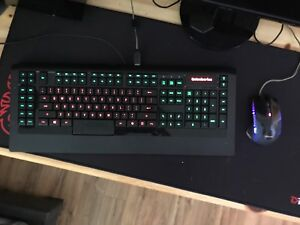 RGB keyboard and mouse combo