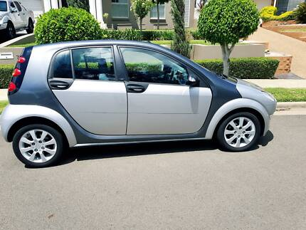 2004 Smart ForFour Blue/Silver Automatic