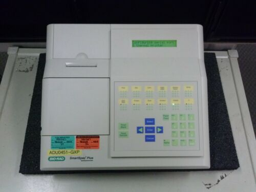 BIO RAD SmartSpec Plus Spectrophotometer