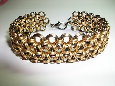 CHAIN MAILLE BRACELET JAPANESE 6 IN 2 TUTORIAL PATTERN - INSTRUCTIONS ONLY