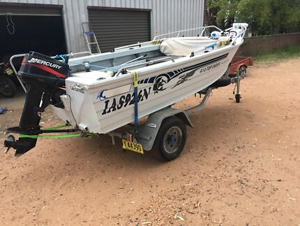 Ally Craft 410 Top Ender with 30hp Mercury