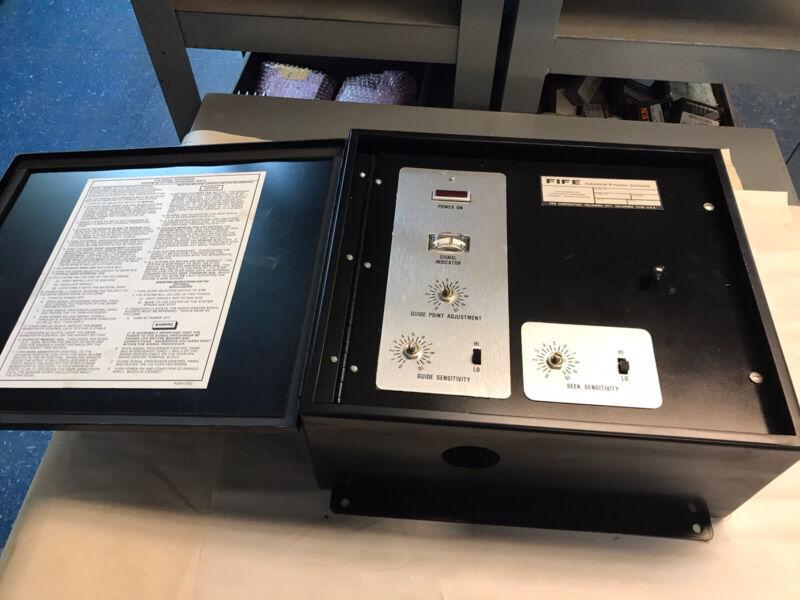 Fife A7a-111-c Automatic Guiding System Signal Processor 100-130v