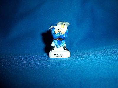 SHAN-YU HUN VILLAIN Mini FEVES Figurine MULAN Tiny Porcelain Figure DISNEY - Mulan Villain