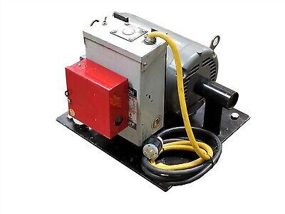 Custom 3-phase 240v Generator W Baldor Hvac Variable Torque Motor Hm9235t