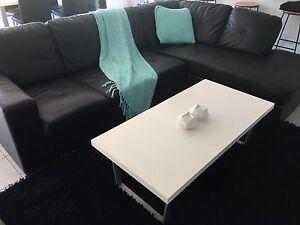 Black corner sofa lounge Geebung Brisbane North East Preview