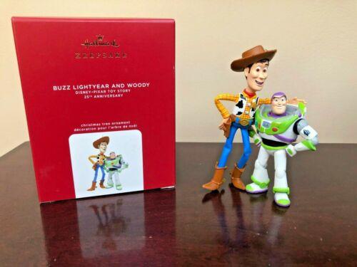 2020 Hallmark Ornament Buzz Lightyear and Woody  25th Anniversary