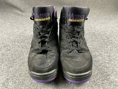 LA GEAR TECH SERIES BASKETBALL MEN SIZE 10.5 BLACK 2010 LIGHT UP SHOES EUC