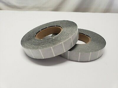 1 Clear Wafer Sealing Mailing Tabs No Perforation 5000 Hand Roll