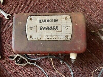 Vintage Gambles Farmcrest Ranger Electric Fence Controller Farm Fresh