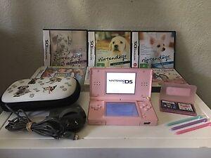 DS Lite Console with 8 Games & Accessories Preston Darebin Area Preview
