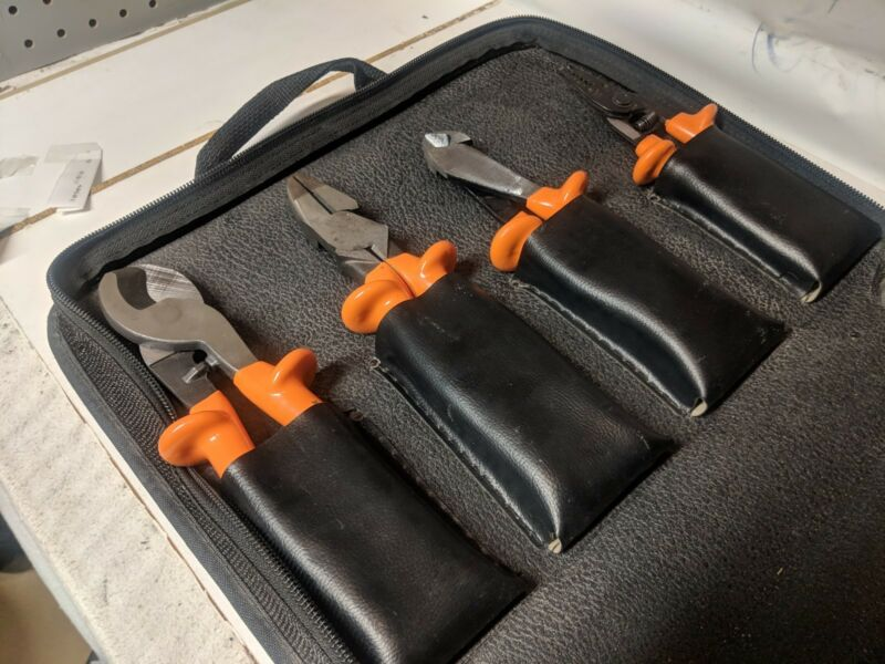 KLEIN Insulated Tools High Voltage 8 Pieces